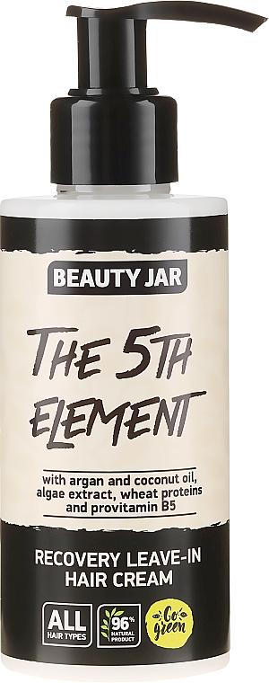 Crème sans rinçage à l'huile d'argan pour cheveux - Beauty Jar Recovery Leave-In Hair Cream