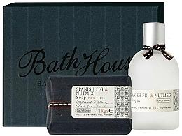 Parfums et Produits cosmétiques Bath House Spanish Fig and Nutmeg - Coffret cadeau (eau de cologne/100ml + savon/150g)