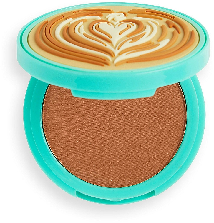 Poudre bronzante pour visage - I Heart Revolution Tasty Coffee Bronzer
