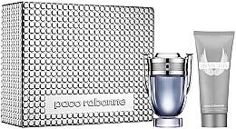Parfums et Produits cosmétiques Paco Rabanne Invictus - Coffret (eau de toilette/100ml + gel douche/100ml)