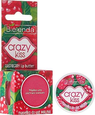 Beurre à la framboise pour lèvres - Bielenda Crazy Kiss Raspberry Lip Butter