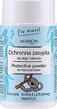 Parfums et Produits cosmétiques Poudre protectrice à l'huile d'eucalyptus pour pieds et chaussures - Marion Dr Koala Protective Powder