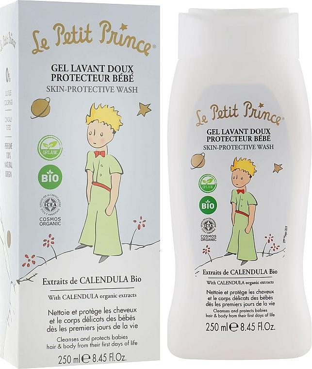 Gel nettoyant à l'extrait de calendula bio pour corps et cheveux - Le Petit Prince Skin-Protective Wash
