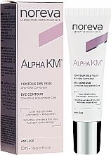 Parfums et Produits cosmétiques Crème à l'extrait d'amande douce pour contour des yeux - Noreva Laboratoires Alpha KM Eye Contour