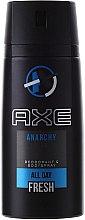 Parfums et Produits cosmétiques Déodorant spray parfumé - Axe Anarchy Deodorant Body Spray