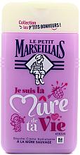 Parfums et Produits cosmétiques Douche crème hydratante à la mûre sauvage - Le Petit Marseillais Blackberry Shower Gel