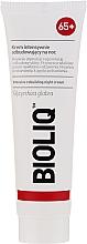 Parfums et Produits cosmétiques Crème de nuit à l'extrait de racine de réglisse - Bioliq 65+ Intensive Rebuilding Night Cream