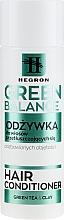 Parfums et Produits cosmétiques Après-shampooing à l'argile et thé vert pour cheveux gras et sans volume - Hegron Green Balance Hair Conditioner