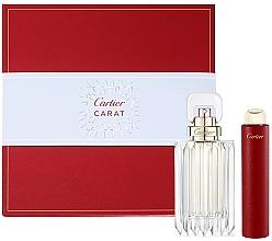 Parfums et Produits cosmétiques Cartier Carat - Coffret (eau de parfum/100ml + eau de parfum/15ml)