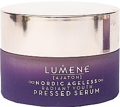 Parfums et Produits cosmétiques Sérum pressé anti-rides pour visage - Lumene Nordic Ageless [Ajaton] Radiant Youth Pressed Serum