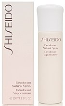 Déodorant - Shiseido Deodorant Natural Spray  — Photo N2