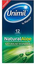Parfums et Produits cosmétiques Préservatifs, 12 pcs - Unimil Natural Aloe