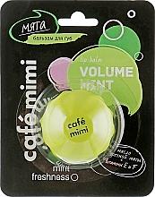 Parfums et Produits cosmétiques Baume à lèvres à l'huile de menthe - Cafe Mimi Lip Balm Volume Mint