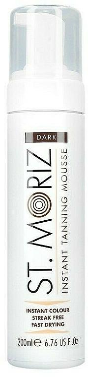 Mousse autobronzante pour corps - St. Moriz Instant Tanning Mousse Dark
