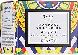 Parfums et Produits cosmétiques Gommage au cédrat et fruit de la passion pour corps - Baija So Loucura Citron Passion Fruit Body Scrub