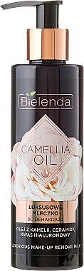 Lait démaquillant à l'huile de camélia et acide hyaluronique - Bielenda Camellia Oil Luxurious Make-up Removing Milk