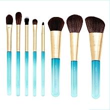 Parfums et Produits cosmétiques Kit pinceaux de maquillage, 8pcs - Nabla Aquamarine Essential Brush Set