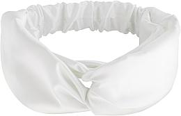 Parfums et Produits cosmétiques Bandeau pour cheveux, blanc, Satin Twist - MakeUp Hair Accessories