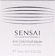 Parfums et Produits cosmétiques Baume contour des yeux - Kanebo Sensai Cellular Performance Eye Contour Balm