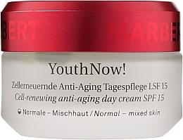 Parfums et Produits cosmétiques Crème de jour à l'acide hyaluronique - Marbert YouthNow! Cell-Renewing Anti-Aging Day Care SPF 15