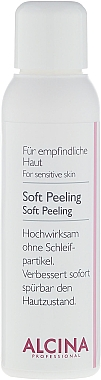 Exfoliant doux enzymatique pour visage - Alcina Soft Peeling — Photo N2