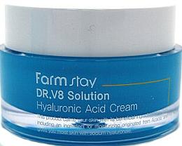 Parfums et Produits cosmétiques Crème à l'acide hyaluronique pour visage - FarmStay DR.V8 Solution Hyaluronic Acid Cream