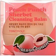 Parfums et Produits cosmétiques Baume nettoyant Punch à la pêche - Tony Moly Peach Punch Sherbet Cleansing Balm