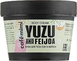 Parfums et Produits cosmétiques Crème corporelle Yuzu et Feijoa - Cafe Mimi Body Cream Yuzu And Feijoa