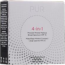 Parfums et Produits cosmétiques Base minérale compacte pour visage - Pur 4-In-1 Pressed Mineral Makeup SPF15
