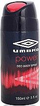 Parfums et Produits cosmétiques Umbro Power - Déodorant spray