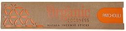 Parfums et Produits cosmétiques Bâtons d'encens, Patchouli - Song Of India Organic Goodness Patchouli