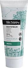 Parfums et Produits cosmétiques Dentifrice bio à l'extrait de menthe - Bio Happy Neutral&Delicate Toothpaste Mint Flavor