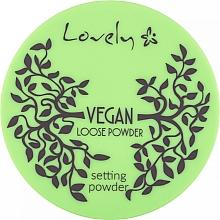 Parfums et Produits cosmétiques Poudre libre transparente - Lovely Vegan Loose Powder Setting Powder