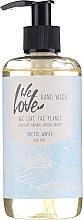 Parfums et Produits cosmétiques Savon liquide à l'aloe vera - We Love The Planet Arctic White Hand Wash