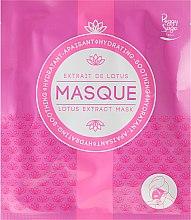 Parfums et Produits cosmétiques Masque tissu à l'extrait de lotus pour visage - Peggy Sage Moisturizing and Soothing Mask