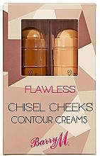 Parfums et Produits cosmétiques Barry M Flawless Chisel Cheeks - Bâtonnets de crème contour des joues