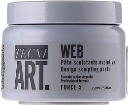 Parfums et Produits cosmétiques Pâte sculptante à la glycérine pour cheveux - L'Oreal Professionnel Tecni.art A-Head Web Force 5
