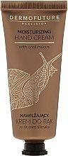 Parfums et Produits cosmétiques Crème mains hydratante à la bave d'escargot - Dermofuture Moisturizing Hand Cream
