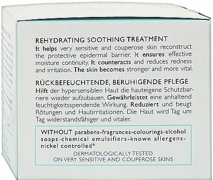 Crème au beurre de karité pour visage - Collistar Speciale Pelli Ipersensibili Rehydrating Soothing Treatment — Photo N3
