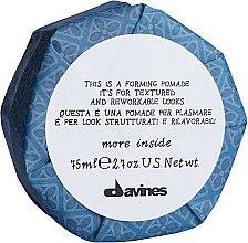 Parfums et Produits cosmétiques Pommade formatrice pour cheveux - Davines More Inside This is a Forming Pomade