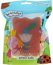 Parfums et Produits cosmétiques Éponge de bain pour enfants, Ben et Holly, Ben, rouge-bleu - Suavipiel Ben & Holly Bath Sponge