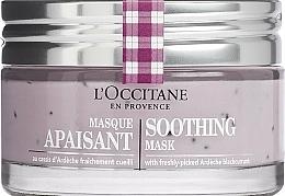Parfums et Produits cosmétiques Masque à l'extrait de cassis pour visage - L'Occitane Soothing Mask
