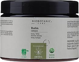 Parfums et Produits cosmétiques Baume à l'huile de chanvre pour cheveux - BioBotanic Silk Wave Hemp Balm