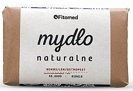 Parfums et Produits cosmétiques Savon naturel, Noix de coco, lin et chardon-Marie - Fitomed Soap
