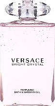 Parfums et Produits cosmétiques Versace Bright Crystal - Gel douche