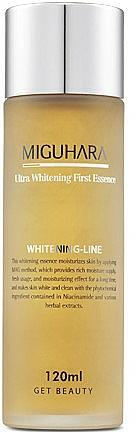 Essence anti-taches à l'huile de pamplemousse pour visage - Miguhara Ultra Whitening First Essence