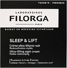 Parfums et Produits cosmétiques Crème de nuit à l'acide hyaluronique - Filorga Sleep & Lift Ultra-lifting Night Cream