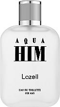 Parfums et Produits cosmétiques Lazell Aqua Him - Eau de Toilette