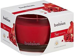 Parfums et Produits cosmétiques Bougie parfumée en verre, Grenade, 63/90 mm - Bolsius True Scents Candle