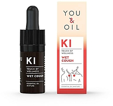 Parfums et Produits cosmétiques Mélange d'huiles essentielles - You & Oil KI-Wet Cough Touch Of Welness Essential Oil